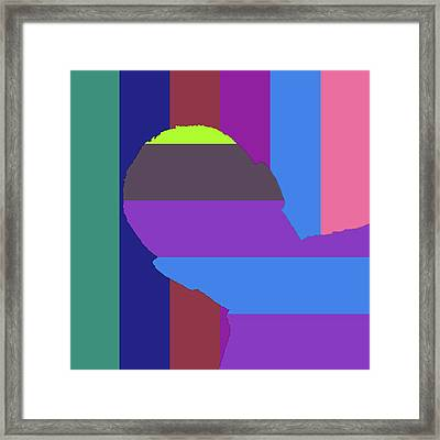 Coded Images -promotion- Framed Print by Coded Images