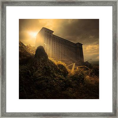 Everything Must Perish Framed Print by Michal Karcz