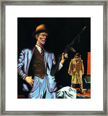 Everything Went Black Framed Print by Aljohn Gonzales