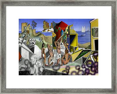 Everything You Can Imagine Is Real Framed Print by David Murray