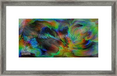 Everywhere Framed Print by Betsy Knapp