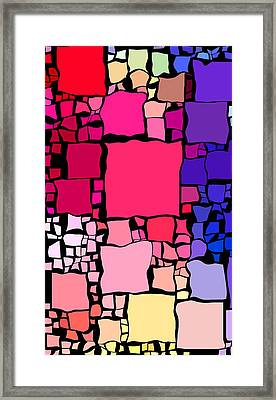 Everywhere Square 28 Framed Print by Chris Butler