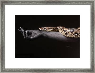 Eve's Temptation Framed Print