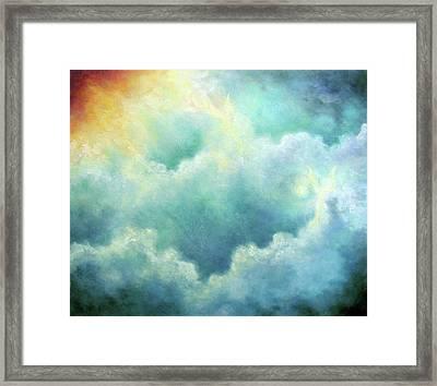 Evidence Of Angels Framed Print by Marina Petro