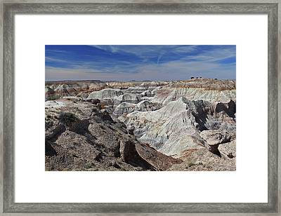 Evident Erosion Framed Print by Gary Kaylor