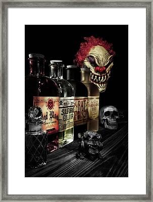 Evil Alchemy Framed Print by Tom Mc Nemar