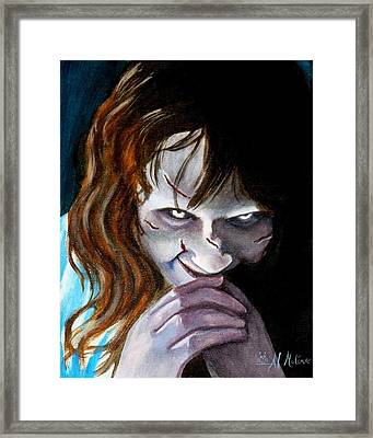 Evil Doesn't Get Any Better Framed Print by Al  Molina