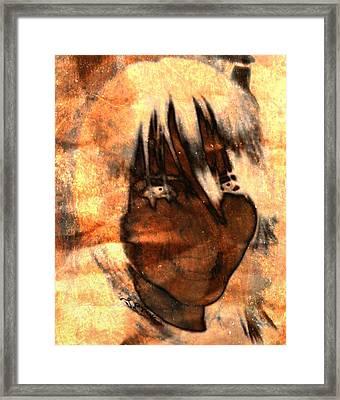 Evil Grin Framed Print