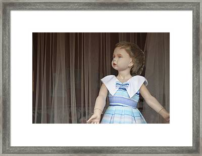 Evil In Disguise With Malice Framed Print by Jez C Self