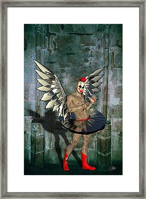 Evil Personified Framed Print
