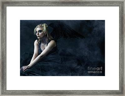 Evil Queen Framed Print by Diane Diederich