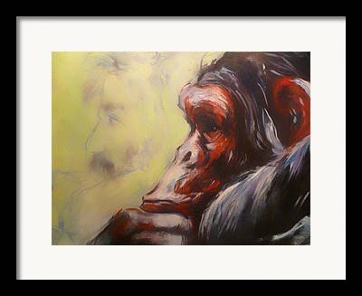 Evolutionary Thought Framed Prints