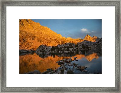 Evolution Basin Sunset Framed Print