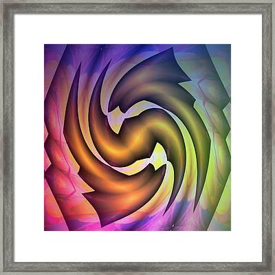 Evolution Framed Print by Visual Artist Frank Bonilla