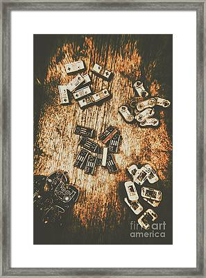 Evolution In Early Gaming Framed Print by Jorgo Photography - Wall Art Gallery