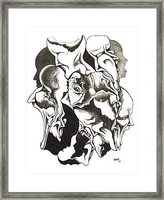 Evolution In Mind  Framed Print