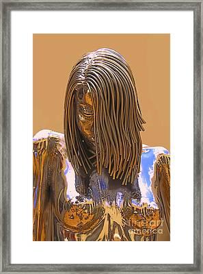 Evolution Of Eve Framed Print by Viktor Savchenko