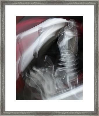 Evolution Of The Horse Framed Print