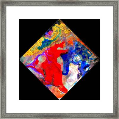 Evolution Series 1007 Framed Print by Dina Sierra