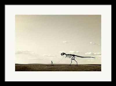 Extinct And Mythical Photographs Framed Prints