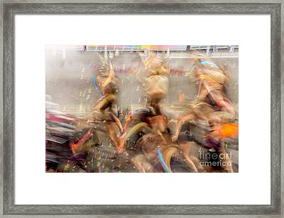 Evolutionary Framed Print by Az Jackson
