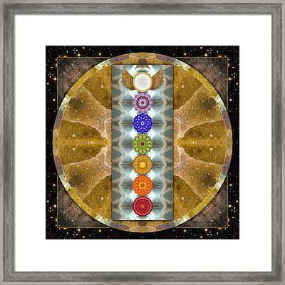 Evolving Light Framed Print