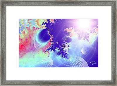 Evolving Universe Framed Print