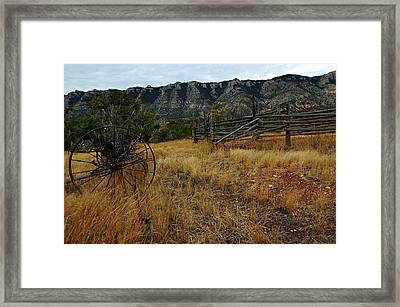 Ewing-snell Ranch 2 Framed Print by Larry Ricker