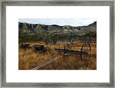 Ewing-snell Ranch 4 Framed Print by Larry Ricker
