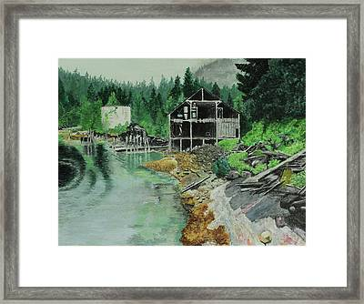 Ex-cannery Framed Print