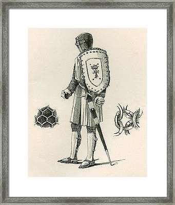 Examples Of Plate And Chain Armour Framed Print
