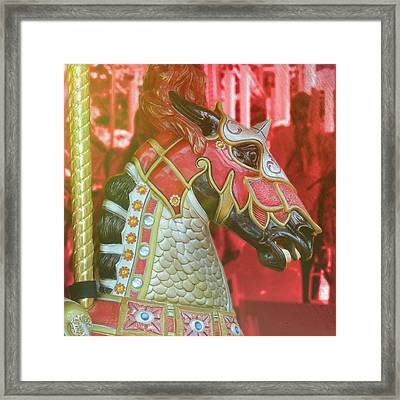 Excalibur Framed Print by JAMART Photography