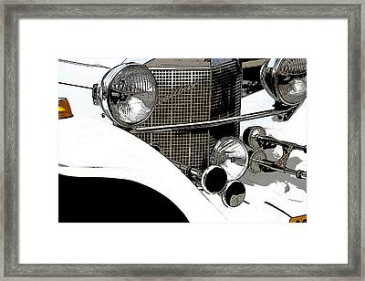 Excalibur Posterized Framed Print by Adriana Zoon