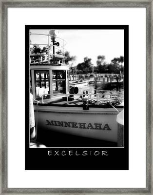 Excelsior 2 Framed Print by Perry Webster