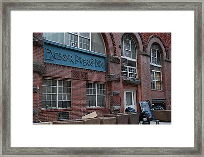 Excelsior Power Co Framed Print by Rob Hans