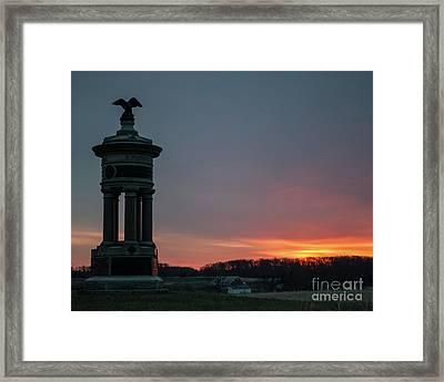 Excelsior Sunrise Framed Print by Kat Zalewski-Bednarek
