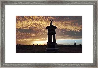 Excelsior Sunset Framed Print by Kat Zalewski-Bednarek
