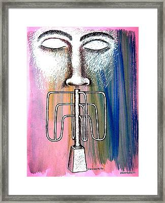 Excess Control Framed Print