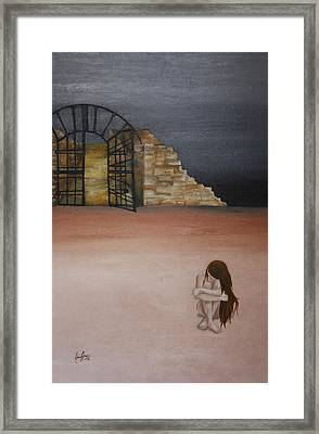 Exclusion Framed Print