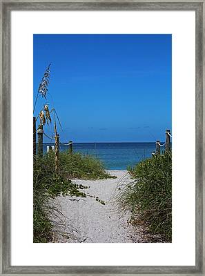 Framed Print featuring the photograph Exclusively Captiva by Michiale Schneider