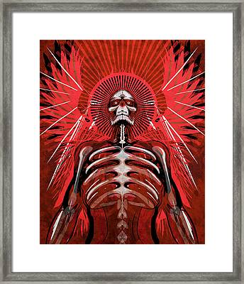 Excoriation Framed Print