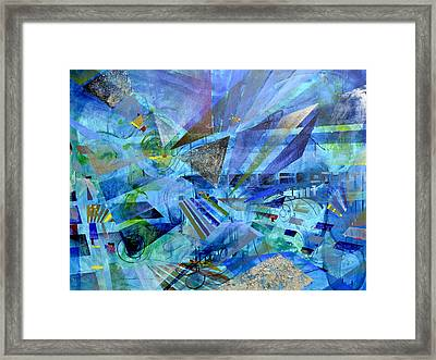Excursions Of Vision Framed Print