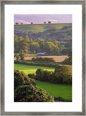 Exe Valley Evening Framed Print by Neil Buchan-Grant