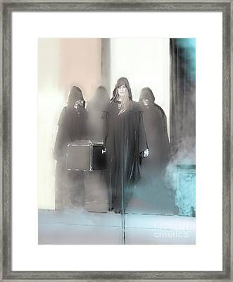 Execution Framed Print by Viktor Savchenko
