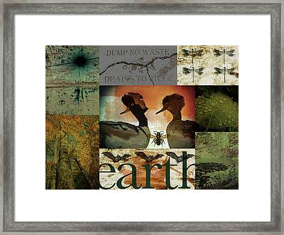 Exemplifies The Remarkable Breadth Framed Print by Char Szabo-Perricelli