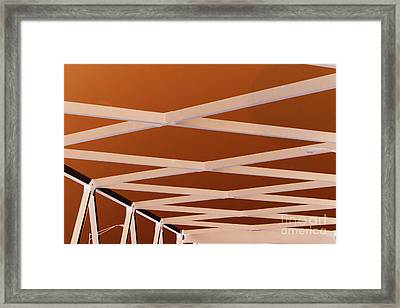 Exes- Red Framed Print