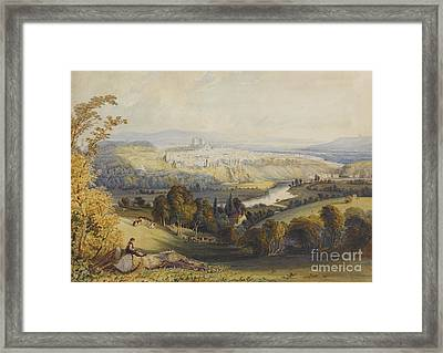 Exeter From Exwick, 1773 Framed Print by William Havell