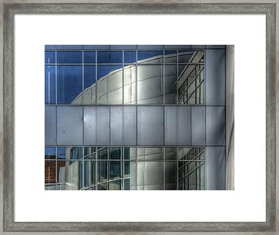 Exeter Hospital Framed Print by Rick Mosher