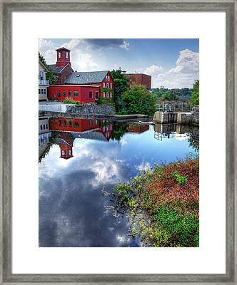 Exeter New Hampshire Framed Print