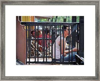 Exhale Framed Print by JoAnn Lense